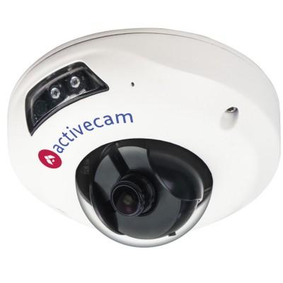 Уличный вандалостойкий миникупол ActiveCam AC-D4111IR1 ИК-подсветкой