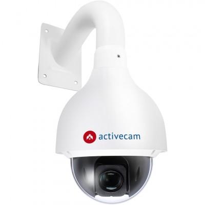 Уличная компактная FullHD SpeedDome-камера ActiveCam AC-D6124 с питанием по Ethernet и x25 зумом