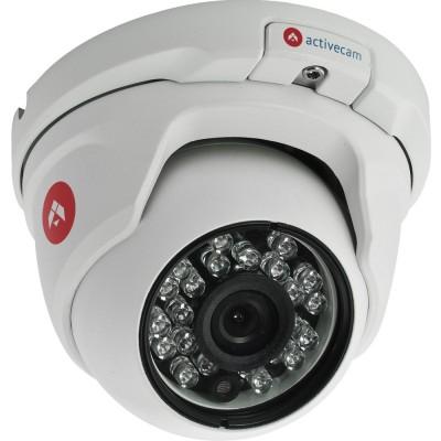 Уличная вандалостойкая 4Мп IP камера-сфера ActiveCam AC-D8141IR2 аппаратным WDR 120дБ