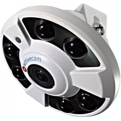 Внутренняя 6Мп IP-камера ActiveCam AC-D9161IR2 с объективом «рыбий глаз»