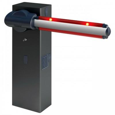 Автоматический шлагбаум MOOVI 30S скоростной в комплекте две стрелы по 3,2 м