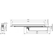 Дверной доводчик Abloy DC860