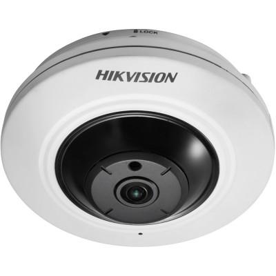 Внутренняя IP-камера 4Мп Hikvision DS-2CD2942F с объективом «рыбий глаз»
