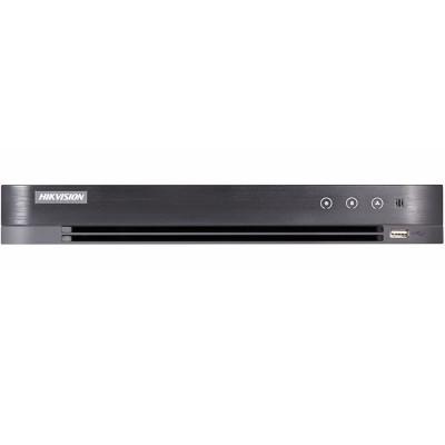 4-канальный DVR Hikvision DS-7204HUHI-K1/P для HD TVI/AHD/CVBS камер и 2 сетевых