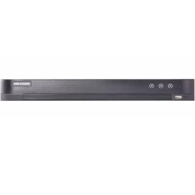 8-канальный DVR Hikvision DS-7208HQHI-K2/P для HD TVI/AHD/CVBS/IP камер, поддержка PoE