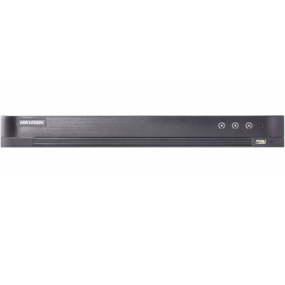 DVR Hikvision DS-7208HUHI-K2/P, 8 каналов, HD TVI/AHD/CVBS камеры, поддержка питания PoE