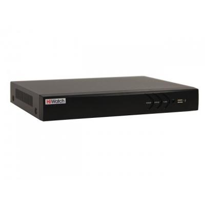 Аналоговый 4-канальный (+ 2 IP) регистратор с поддержкой TVI до 3Мп и AHD – HiWatch DS-H104U
