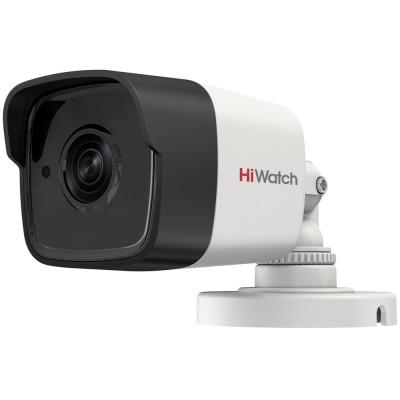 HD-TVI мини-буллет высокого разрешения 3Мп с ИК-подсветкой HiWatch DS-T300 для улицы