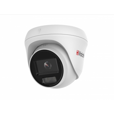 HiWatch DS-I453L (4mm) 4Мп купольная IP-видеокамера с технологией ColorVu