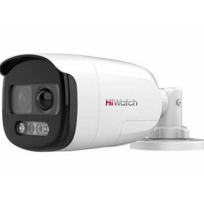 HiWatch DS-T210X (2.8mm) 2Мп цилиндрическая HD-TVI видеокамера с PIR-датчиком и EXIR-подсветкой