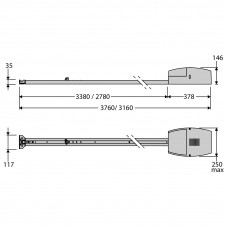 Kit BOTTICELLI SMART BT A 850 (L=2900)
