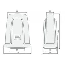 Сигнальная лампа 230В  B LTA230 с антенной