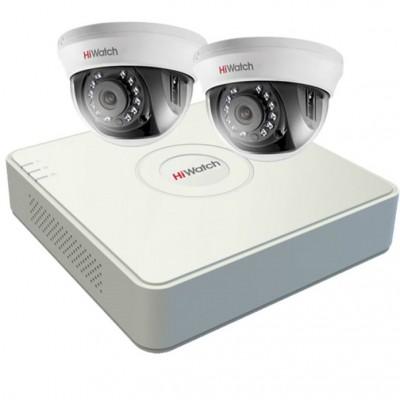 Комплект HD видеонаблюдения на 2 камеры