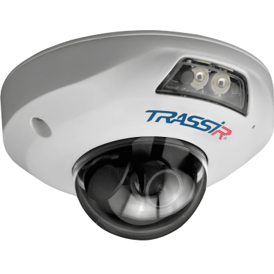 4К (8 Мп) IP-камера TRASSIR TR-D4181IR1 (2.8 мм) с ИК-подсветкой 15 м