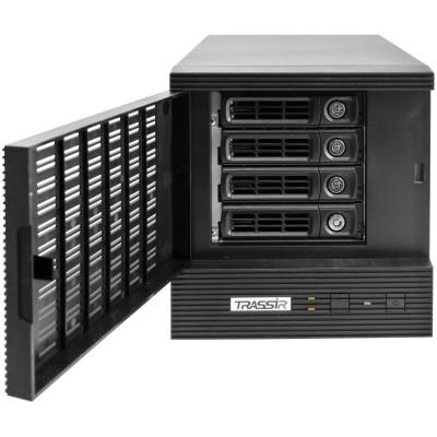 32-канальный гибридный NVR под 4 жеских диска – TRASSIR DuoStation Hybrid 32