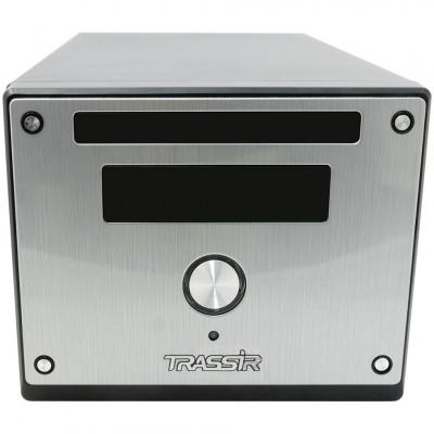 12-канальный гибридный сетевой видеорегистратор TRASSIR MiniNVR Hybrid 12