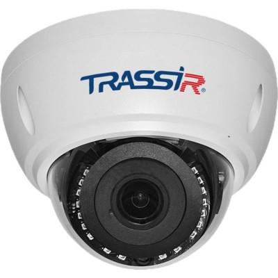 Уличная вандалостойкая сетевая 2Мп Dome-камера Trassir TR-D3122WDZIR2 с ИК-подсветкой до 25 м и motor-zoom