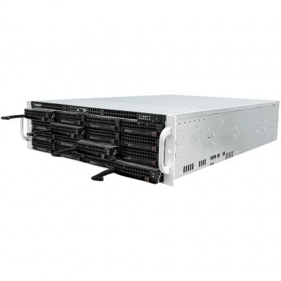 3U сервер повышенной мощности и надежности TRASSIR UltraStation 16/3 на 128 каналов