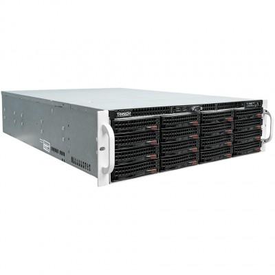 NVR повышенной мощности с 16 HDD 4ТБ в комплекте – TRASSIR UltraStation 16/4 SE в стойку 3U