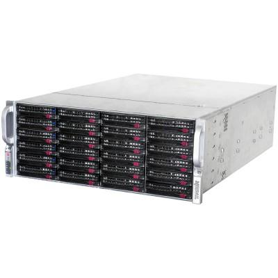 Сетевой видеорегистратор максимальной мощности с 24 HDD 6ТБ TRASSIR UltraStation 24/6 на 256 каналов